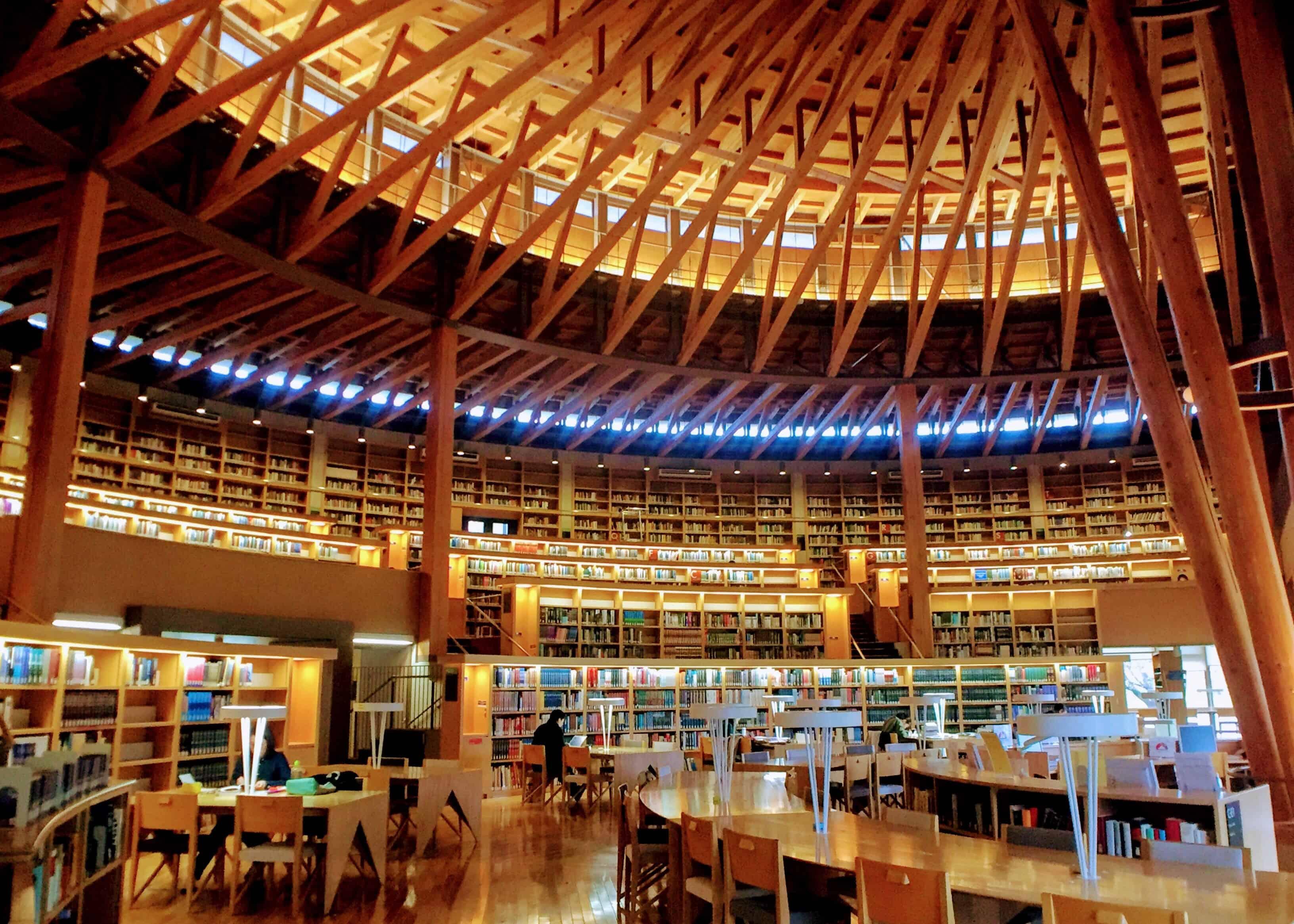 國際教養大學中嶋紀念圖書館